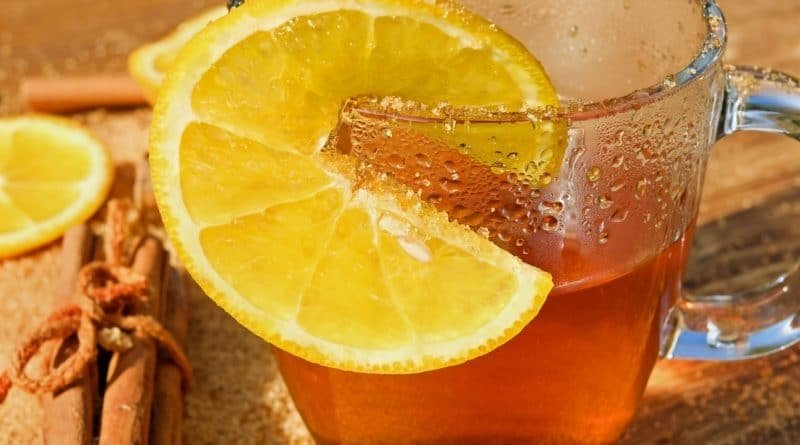 Te de canela con limon para adelgazar